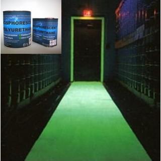 Phosphorescent Polyurethane clearcoat PHU2K