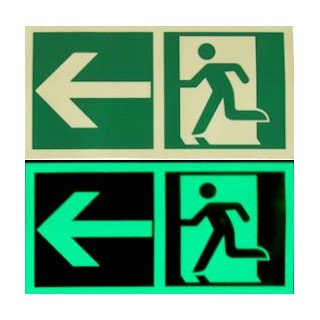 Photoluminescent Exit sign - E001 - E002