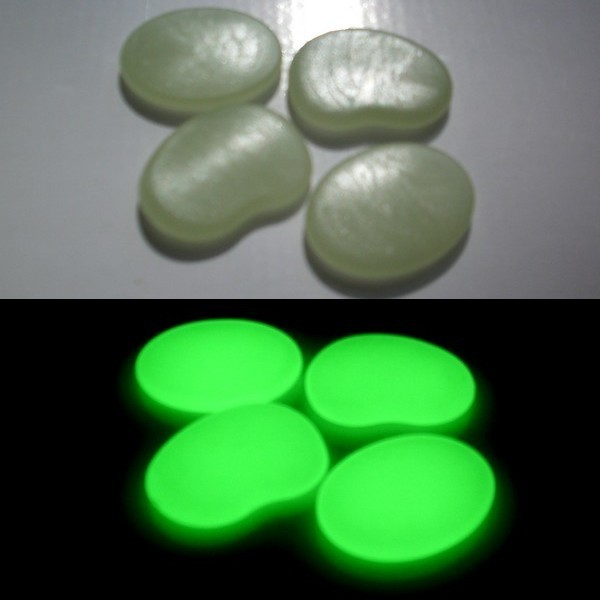 Big Phosphorescent Pebbles