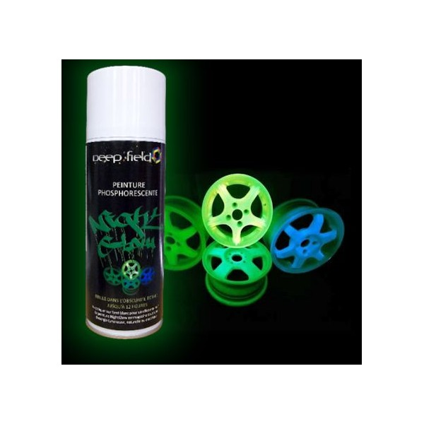 glow paint spraycan 280ml green. Black Bedroom Furniture Sets. Home Design Ideas
