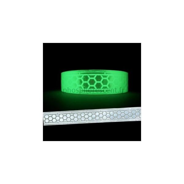 Retro Reflective Phosphorescent Tape