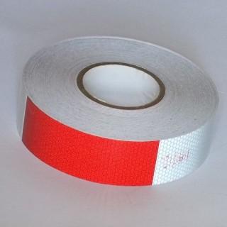 SELF-ADHESIVE RETRO REFLECTIVE TAPE - Red White