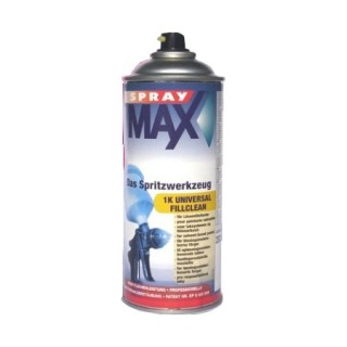 White automotive paint in spray