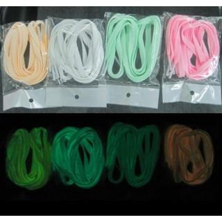 Phosphorescent laces