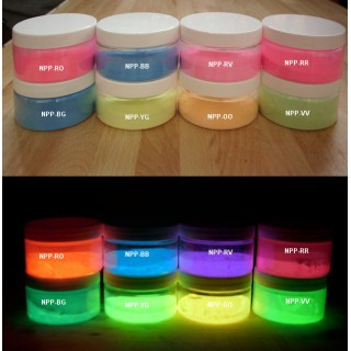 Colored Phosphorescent Pigments