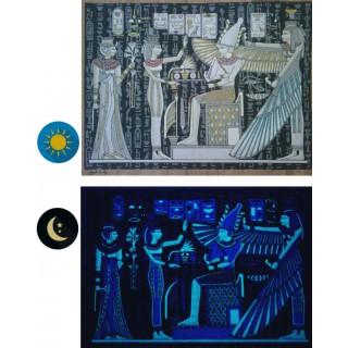 "Ancient Egypt Collection"" Phosphorescent Papyrus - 10 frescoes"