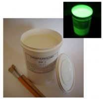 PHOSPHORESCENT DECORATIVE WATERBASED PAINT